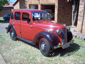 1946 Austin 8 Six Light